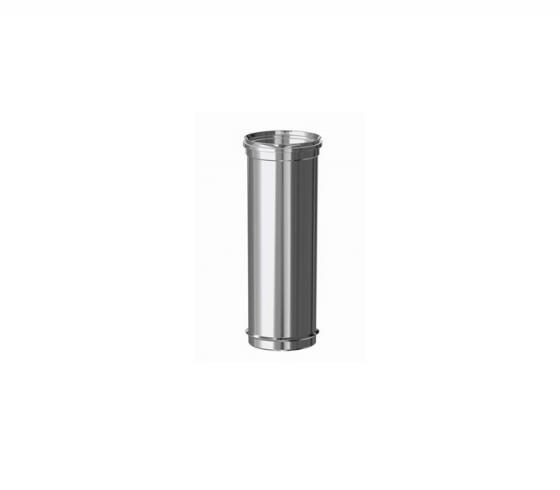 Tubo Fig simple Inox 316 M-H Ø 80 x 250 mm - Keramik