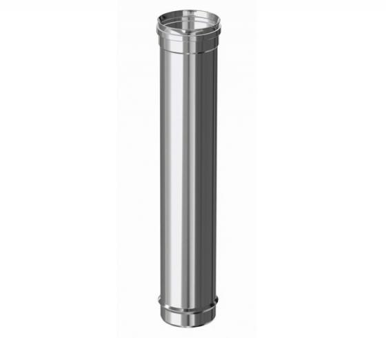 Tubo Fig simple Inox 316 M-H Ø 100 x 1000 mm - Keramik