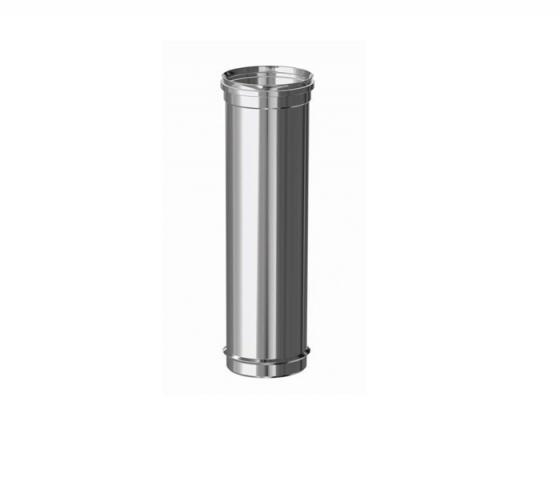 Tubo Fig simple Inox 316 M-H Ø 100 x 500 mm - Keramik